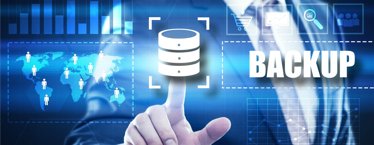 Back up data for disaster recovery